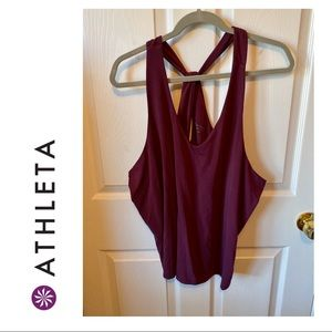 Athleta Purple Workout Tank